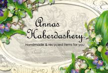 Annas Haberdashery.Etsy.com / My first Etsy-shop, for my own handmade items.