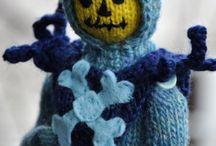 Art - Pop Art / knit & crochet pop art