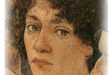 Sandro БОТТИЧЕЛЛИ. / Са́ндро Боттиче́лли (итал. Sandro Botticelli, настоящее имя Алесса́ндро ди Мариа́но ди Ва́нни Филипе́пи (итал. Alessandro di Mariano di Vanni Filipepi; 1 марта 1445 — 17 мая 1510) — великий итальянский живописец, представитель флорентийской школы живописи.