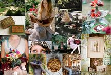 Pixie Hollow Garden Wedding / Ethereal and whimsical