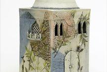 pottery slab boxes