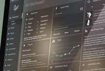 dashboard interface design