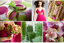Green loves pink