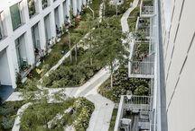 Landskap - boliger, takterrasser