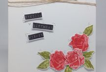 Heritage Rose and Dymo Stamp Set