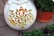 pumpkin decorating ideas / by Amy Hatch