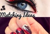 make up hair nails