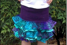 Skirts I've made / If you would like to buy or order a specific ruffle skirt - please check out my facebook page... www.facebook.com/mymummymadeit