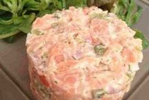 tartare saumon