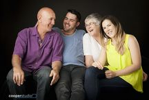 Grown up family photo shoots with Cooper Studio / it's never too late to have family photos done with Cooper Studio