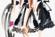 Fashion illustrations / Fashion illustrators