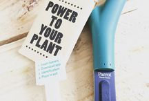 Power to your plant with iot  #iot #plant flower #power #connect #domotique