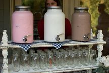 Milk Bars and Matrimony / Cool milk bars and sweet ideas for wedding receptions and engagement parties. / by Southeast Dairy