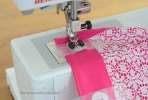 sewing and overlocker (serger) tips