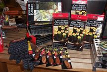 BBQ Products / Just a few of our BBQ products in the showroom.  http://www.OutdoorRooms.net