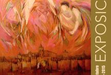 """Ruizanglada - """"Con los ojos del alma"""" V Centenario Sta Teresa / Ruizanglada - """"Con los ojos del alma"""" V Centenario de Santa Teresa de Jesús. 500 STJ.  Dos obras del pintor Ruizanglada participarán en la exposición """"Con los ojos del alma"""" en el Monasterio de San Bernardo de Alcalá de Henares, desde el 15-10-2014. Contará con diversas pinturas clásicas cedidas por iglesias, dos pinturas contemporáneas de Ruizanglada, una celda de una monja de clausura, etc. https://www.facebook.com/ruizanglada.pintura"""