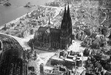 devastation / Bombardements de la seconde guerre mondiale