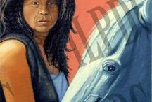 Oil Paintings - Art by Leonard Peltier / Fine art by the Native American artist Leonard Peltier. Paintings, digital prints and giclee reproductions available for sale. Visit www.peltierart.com. Inquiries: info@peltierart.com.