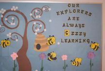 Bee Bulletin Board Buzz