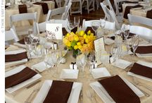 Brown and Yellow Weddings