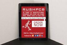 Printed Circuit Board / by RUSH PCB Inc