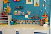 Kids study/craft space