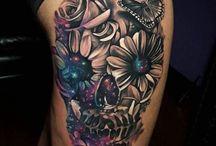 Koponyás tetoválások