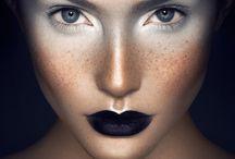 Miss Purple makeup