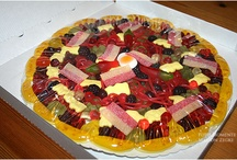 Gummibärchen Pizza