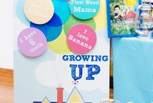 "Growing ""Up"" / This is an attempt to organize an ""Up"" themed birthday party for two very special little boys (turning 1 & 3). They both love balloons, and the soon-to-be-3 year old loves Disney's movie Up"