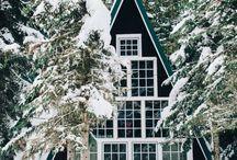 kouzelná chata nebo domek