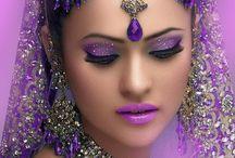 Indiai népviselet, nők