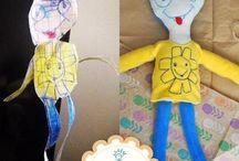 Çizimden Oyuncak Bebekler / Çocukların hayal gücü süper... Çocukların çizimlerini, hayallerini gerçek oyuncaklara dönüştürüyoruz. www.oyuncakdusle.com