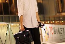白シャツの良さ! / 皆さん!白シャツどうですか!☺️ 着丈の長いのや襟、ボックスカット、色んな種類があるんです!レイヤード感も出せますし、どんな系統にも落とし込めて爽やかさも出せますよ!