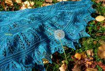 Handmade by myself / knit, chrochet, dyeing