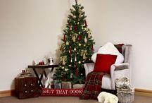 Crimson Christmas / Traditional Christmas inspiration for your home.