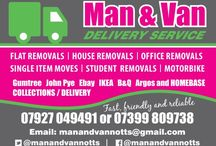 Man And Van In Nottingham / Man and van in Nottingham Call now for a free quote 07927 049491