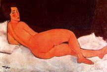 Primitivism / Форма усвоения западными художниками стилей неевропейского и архаичного искусства. Он оказался важным ингредиентом европейских художественных движений начала XX века, таких как немецкий Экспрессионизм и Кубизм, хотя часто базировался на весьма ограниченных представлениях об иных культурах. Henry Moore, Amedeo Modigliani