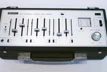 Vintage mixers, EQ's and other pro audio