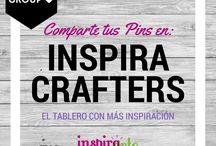 Pinterest Group / ** INSPIRA CRAFTERS ** Grupo de Pinterest abierto para que compartas tus #manualidades, #labores, #reposteriacreativa, #bricolaje y #jardineria  ¡Todo cabe en este tablero! Síguelo y comparte tus proyectos, podrás formar parte de la sección #elpindeldia en nuestras redes sociales