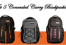 Top 5 Concealed Carry Backpacks For Travel