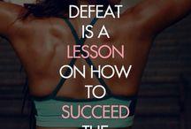 Fitness Quotes / by Trisha Brooks