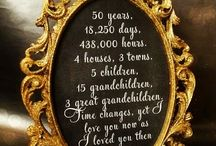 mom and dad anniversary / by Jenny Stafford