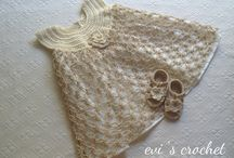 My crochet baby clothes for summer