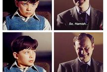 Parentlock / johnlock au where they have a child... That's all