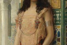 Orientalist art/ Garb inspiration.