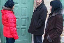 Rencontres avec les Poitevins en portes à portes.