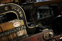 Weaving - the production of cloth / Machine looms and fabrics produced on them.