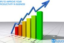 Tips to Improve your Productivity in Business / - Start each day with a planned schedule and work according to the plan - Adjust your schedule to your own preference for the maximum productivity....http://maxxerp.blogspot.in/2014/02/tips-to-improve-your-productivity-in.html