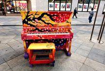 Klavier upcycling
